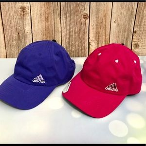 Bundle 2 Women's Adidas Baseball Casual Caps NWT